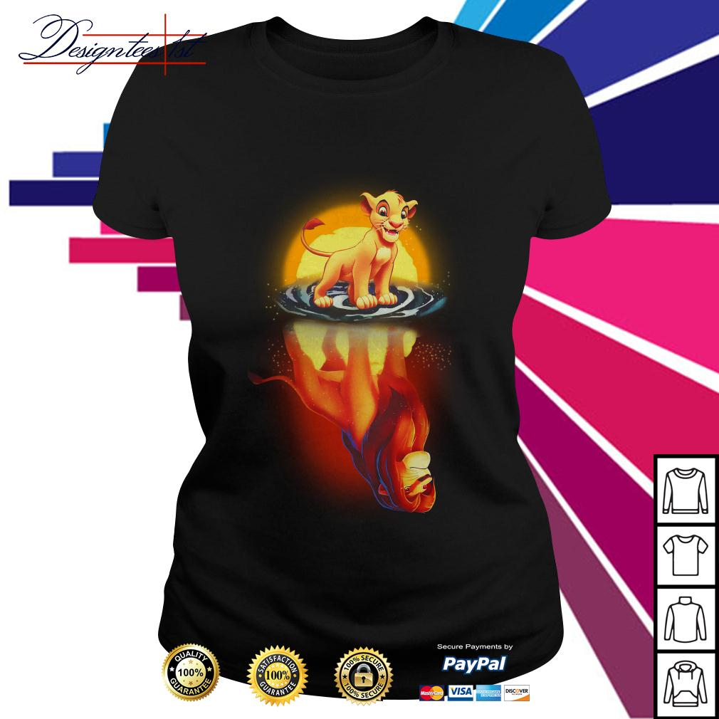 Simba remember who you are The Lion King Ladies Tee