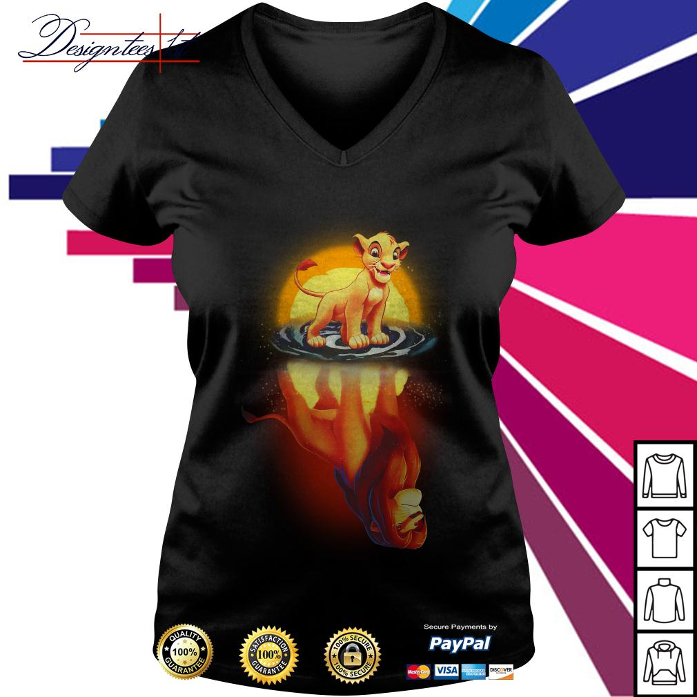 Simba remember who you are The Lion King V-neck T-shirt