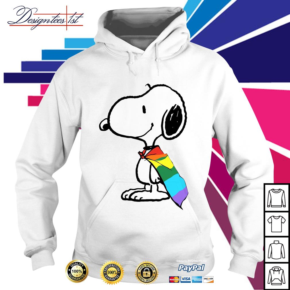 Snoopy LGBT Pride Hoodie