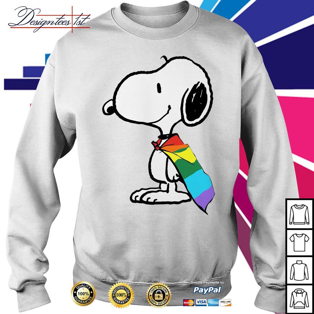 Snoopy LGBT Pride Sweater