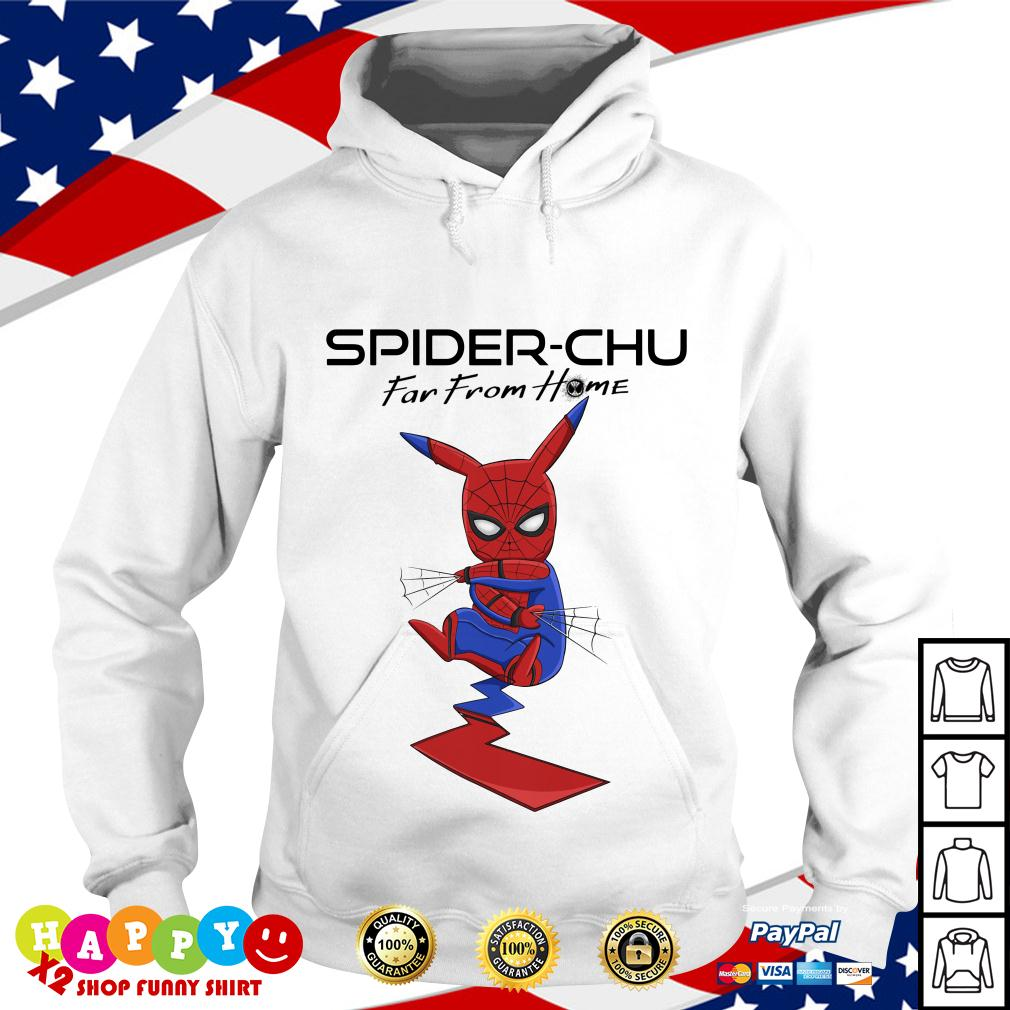 Spider Chu Far from home Hoodie