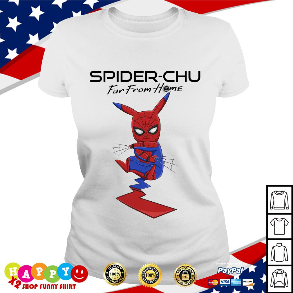 Spider Chu Far from home Ladies Tee