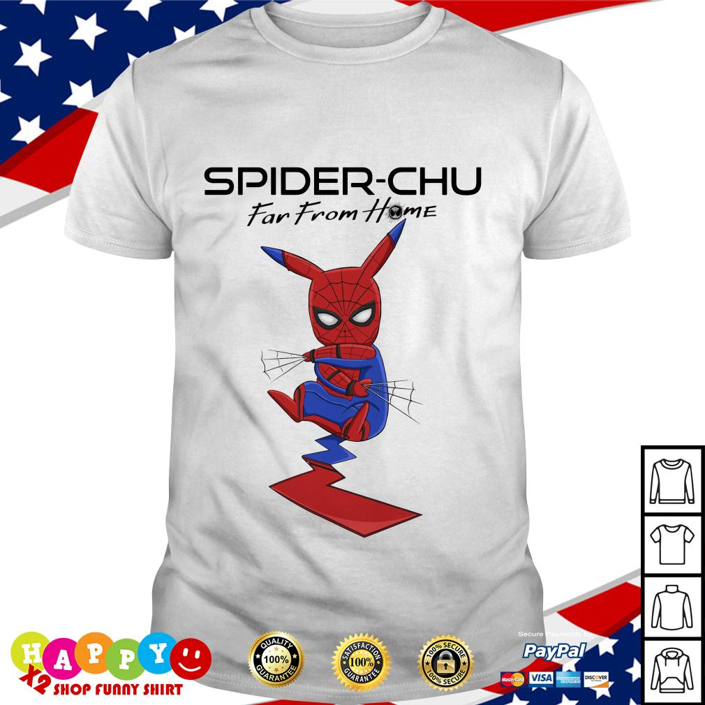 Spider Chu Far from home shirt