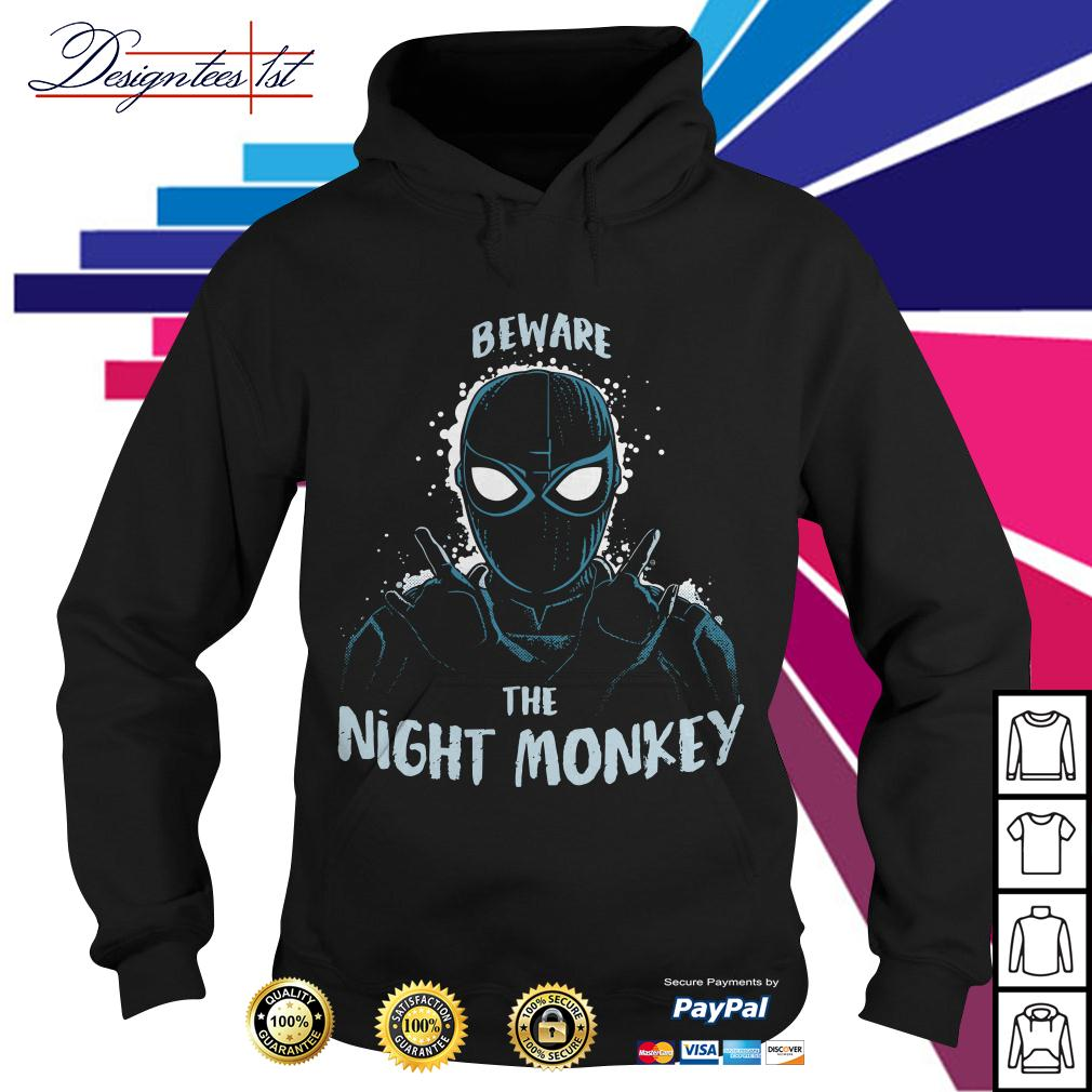 Spider Man far from home beware the Night Monkey Hoodie