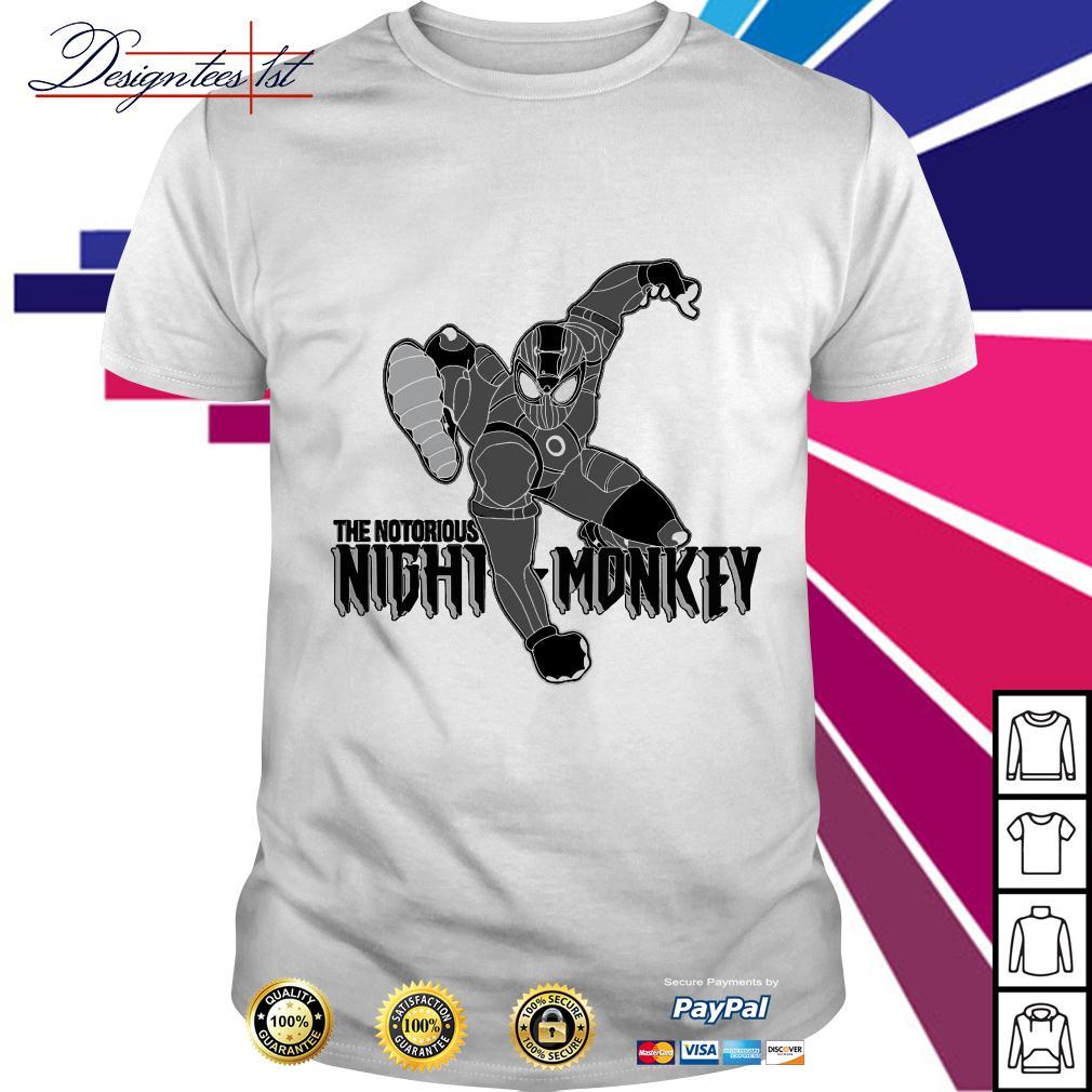 Spider-man the notorious night monkey shirt