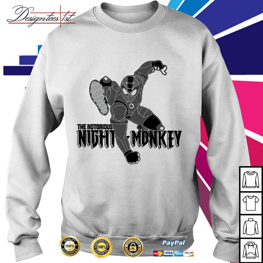Spider-man the notorious night monkey Sweater