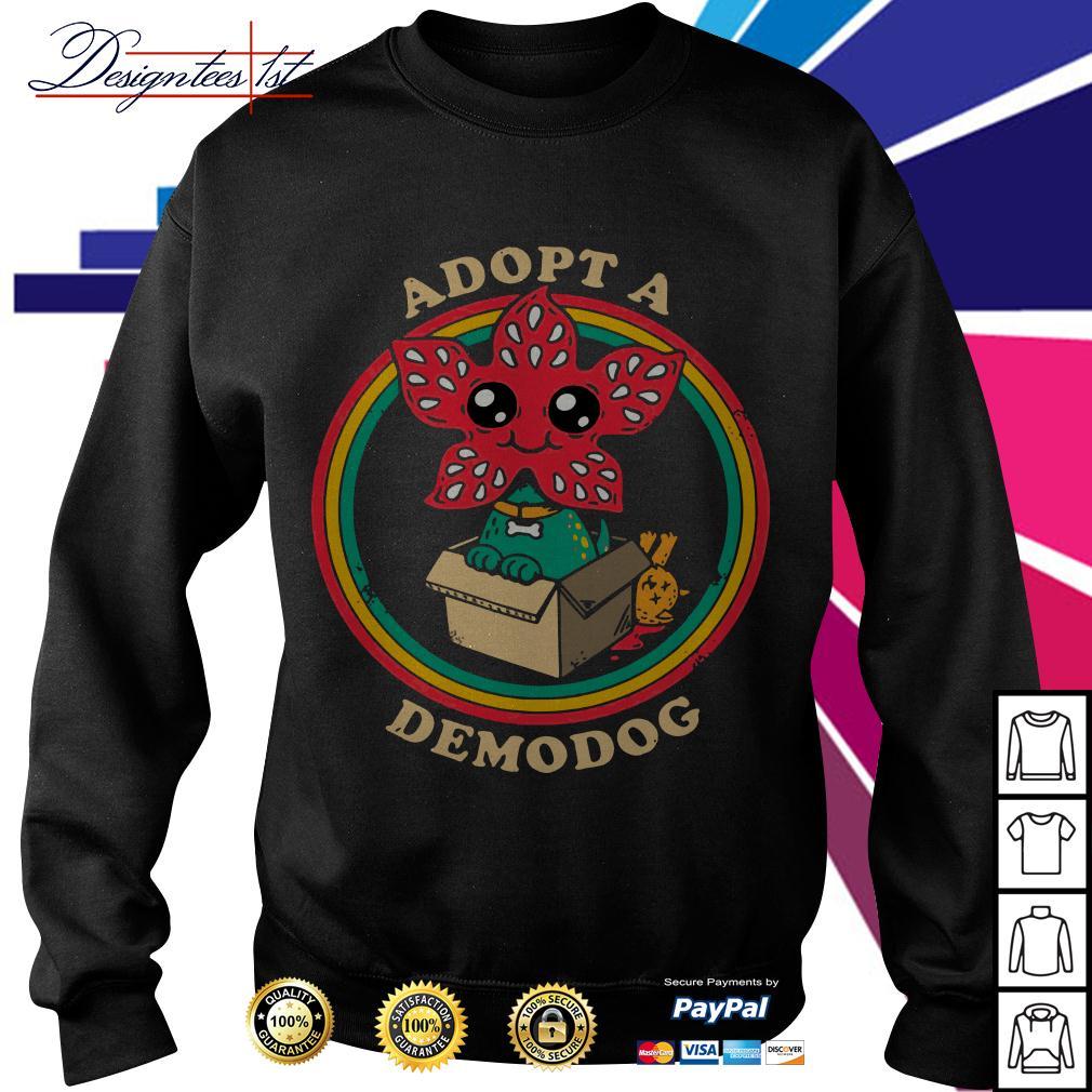 Stranger Things Adopt a demodog Sweater