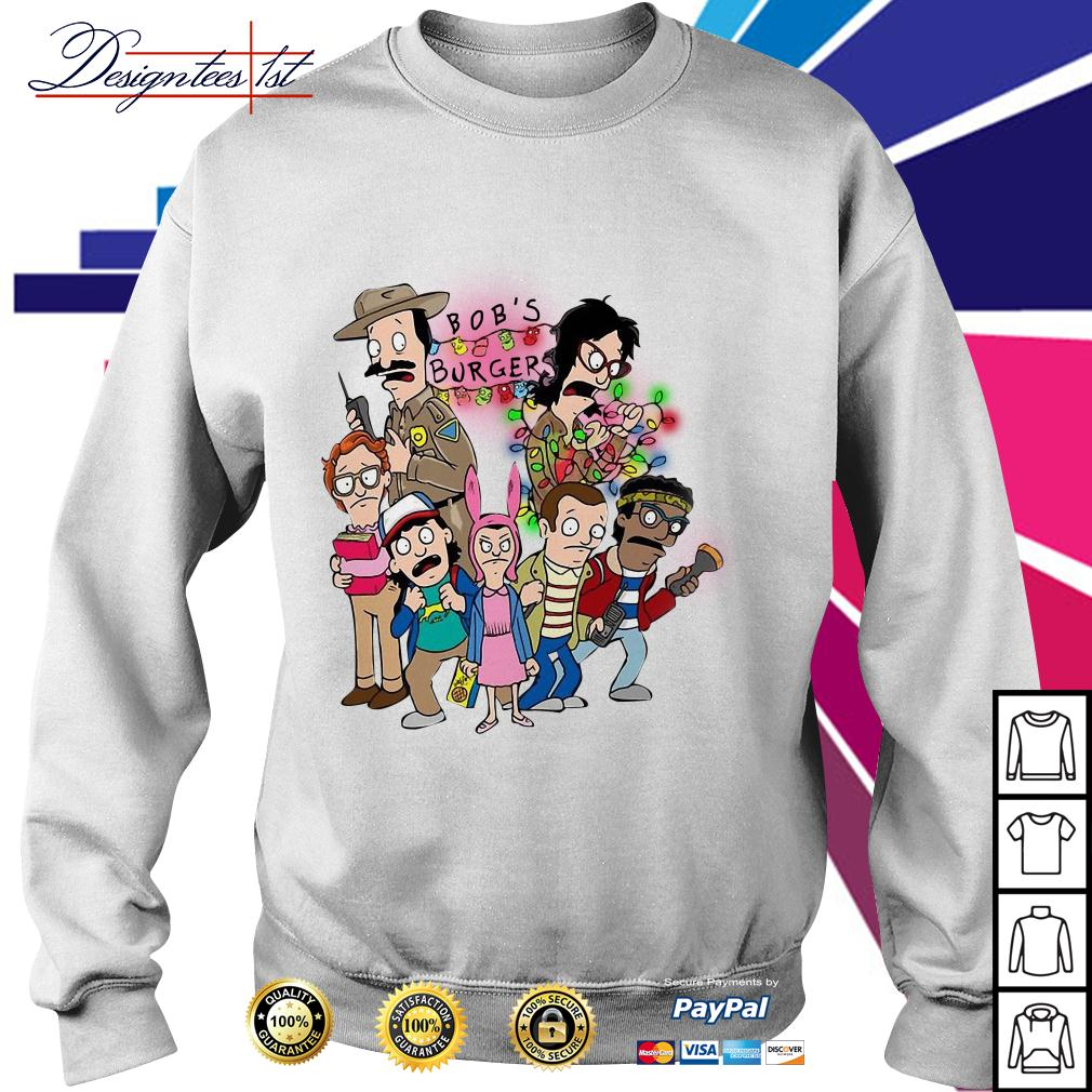 Stranger Things season 3 Bob's burger Sweater