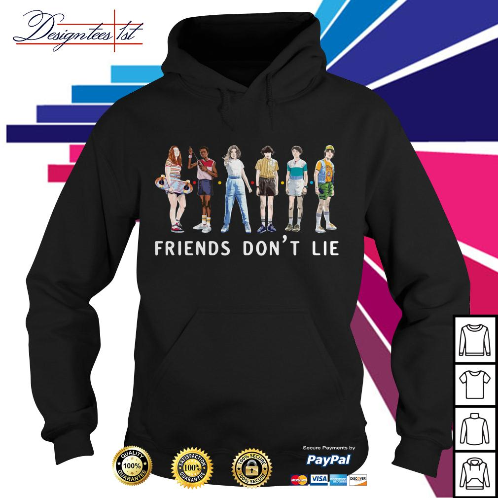 Stranger Things season 3 friends don't lie Hoodie