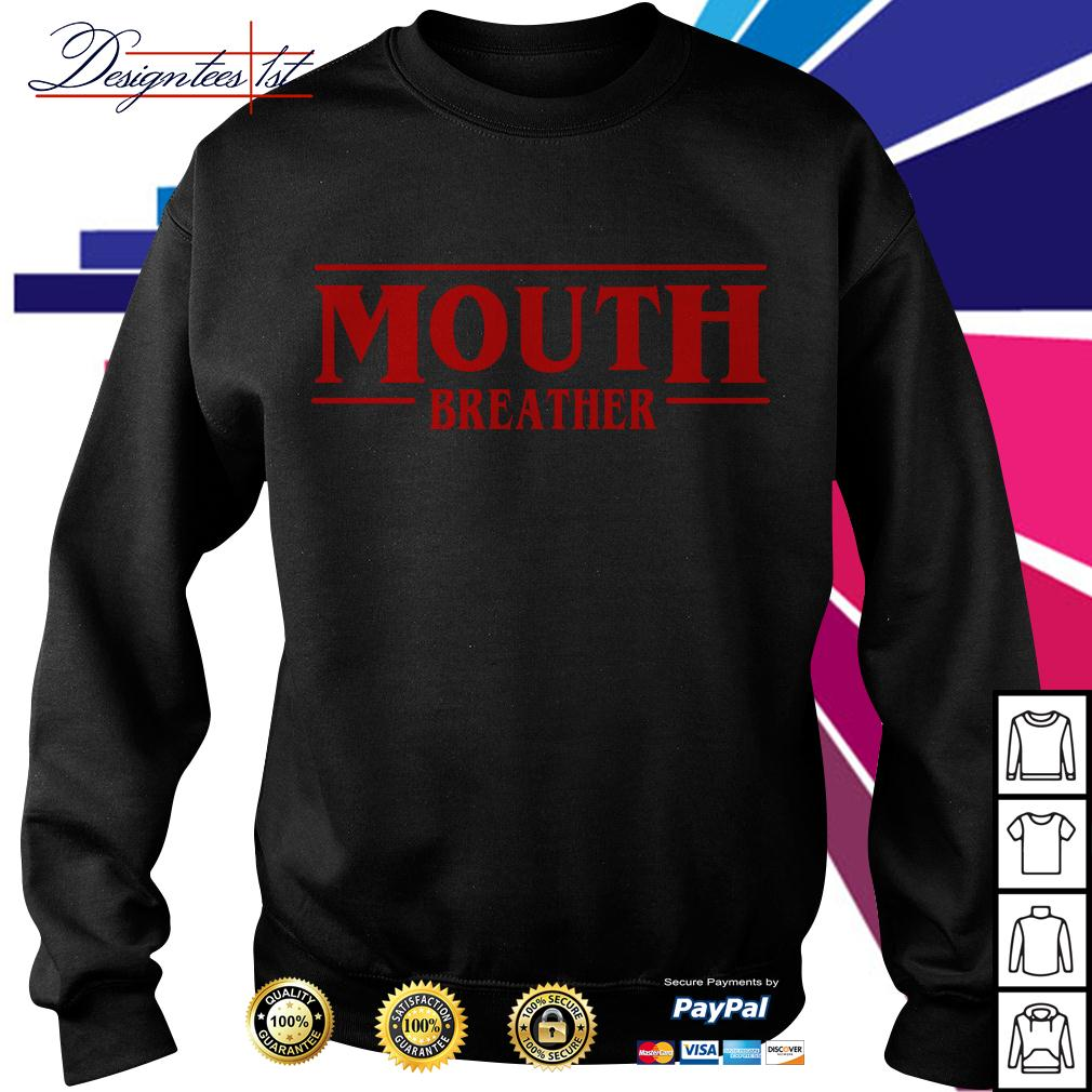 Stranger Things season 3 Mouth breather Sweater