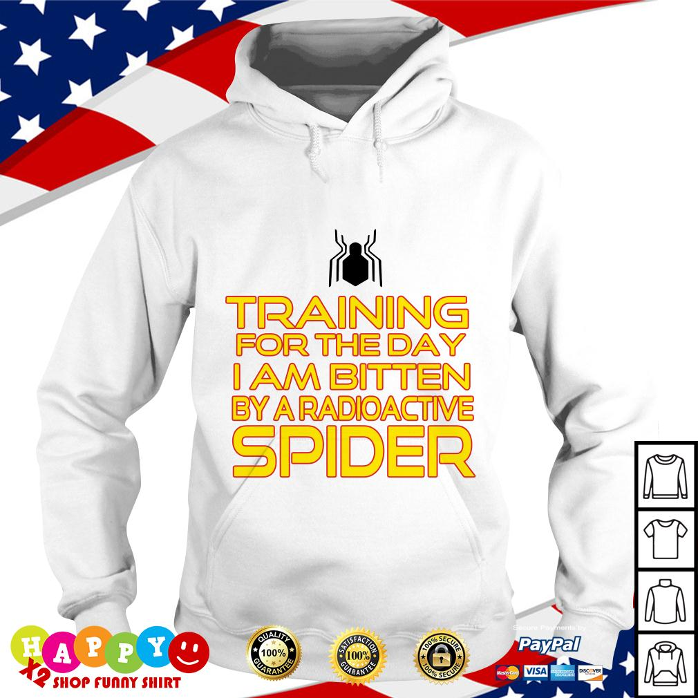 Training for the day I am bitten by a radioactive spider Hoodie