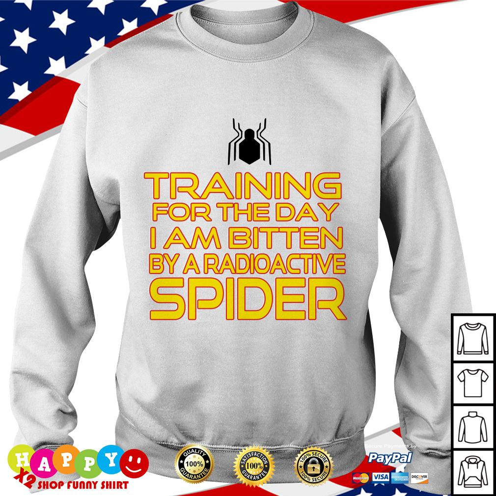 Training for the day I am bitten by a radioactive spider Sweater