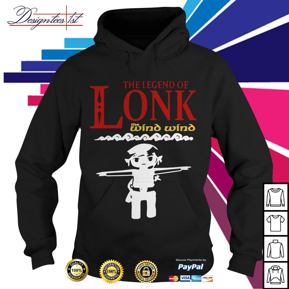 Zelda the legend of Lonk the wind wind Hoodie