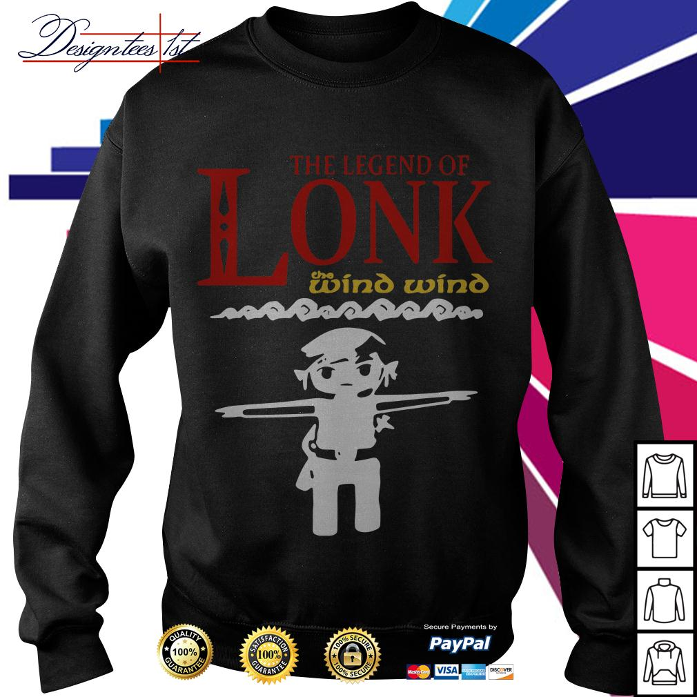 Zelda the legend of Lonk the wind wind Sweater
