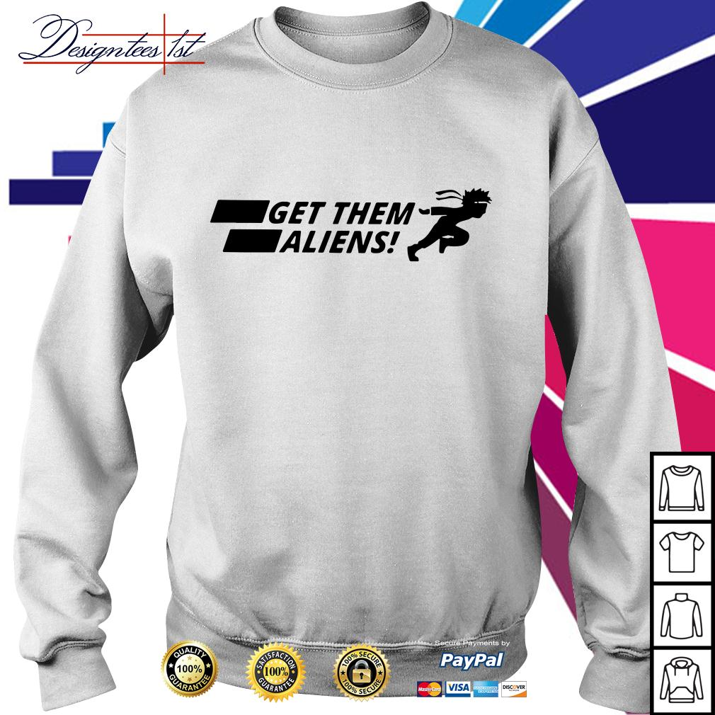 Area 51 get them Aliens Sweater