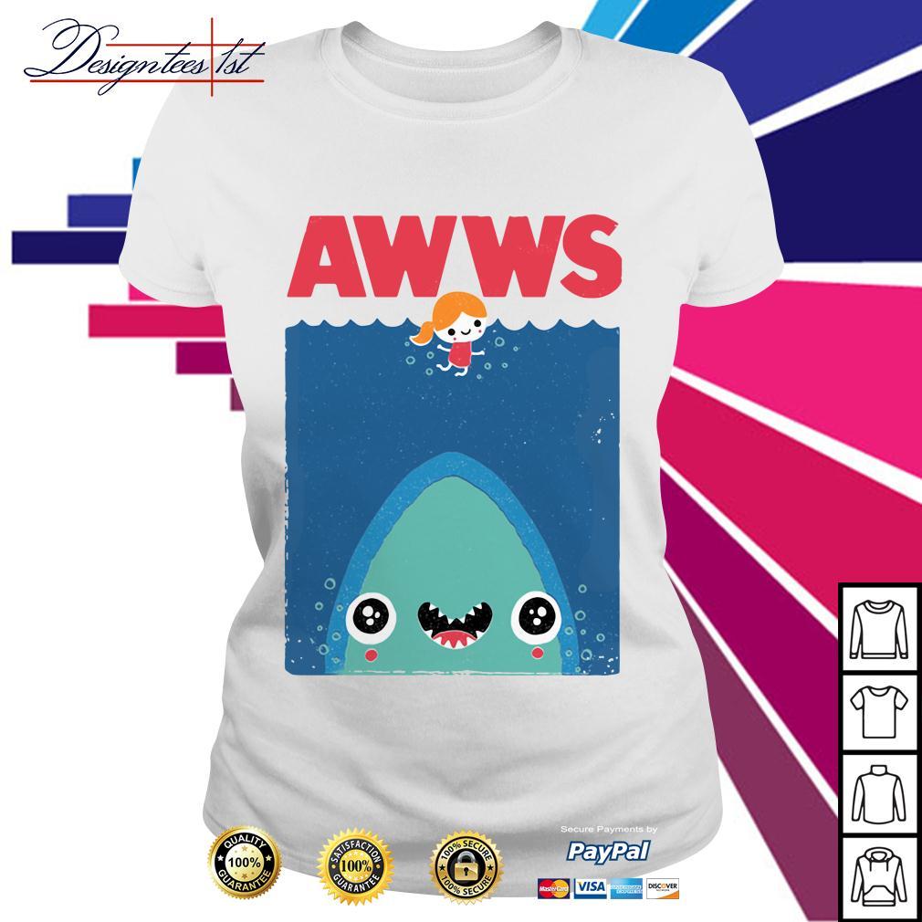 Awws shark Ladies Tee