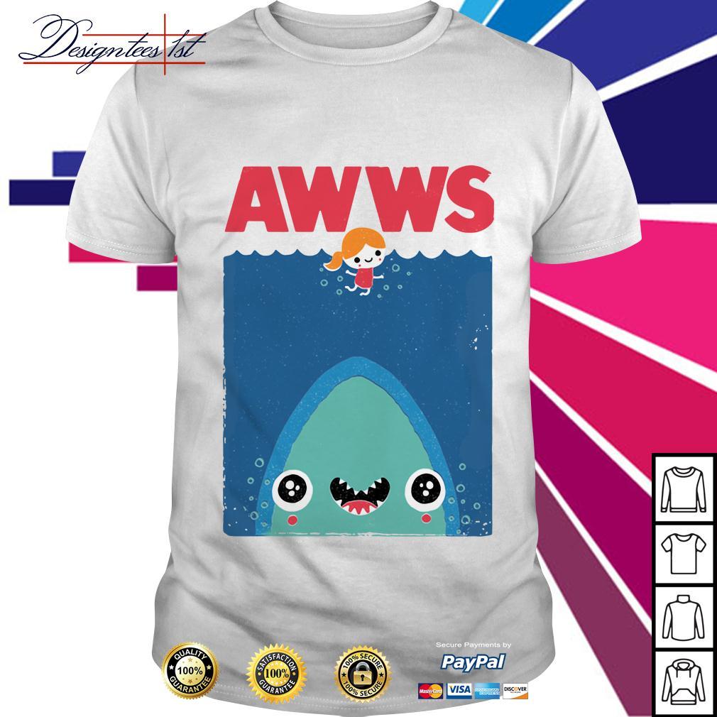 Awws shark shirt