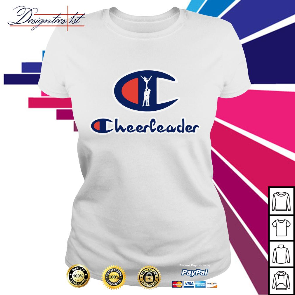 Champion Cheerleader Ladies Tee