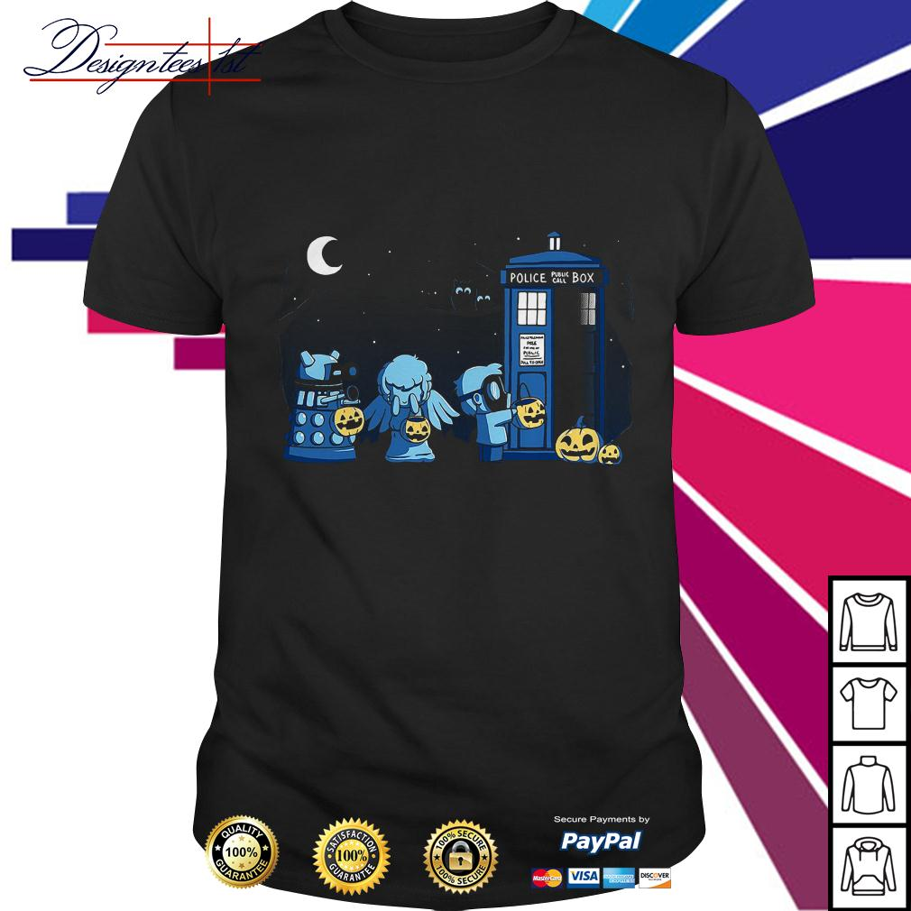 Doctor who a Who Halloween shirt