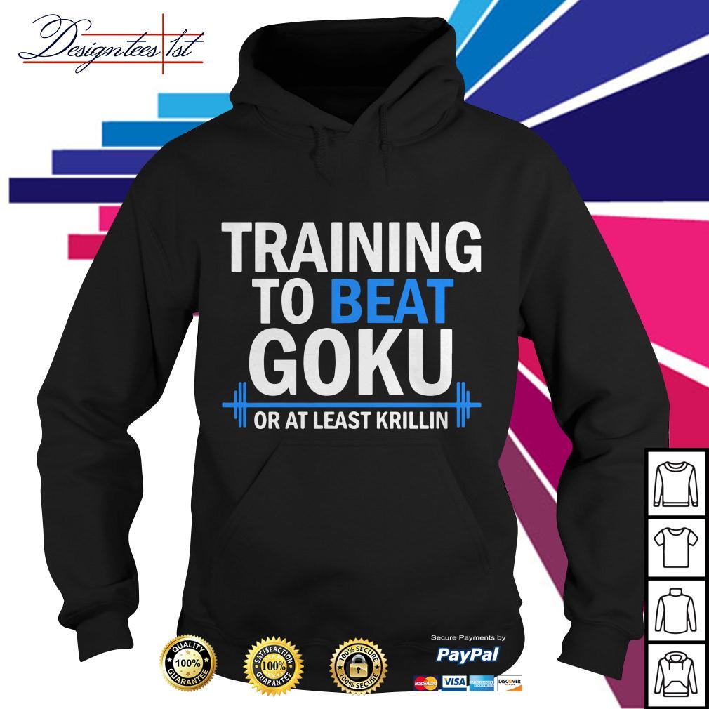 Dragon Ball training to beat Goku or at least Krillin Hoodie