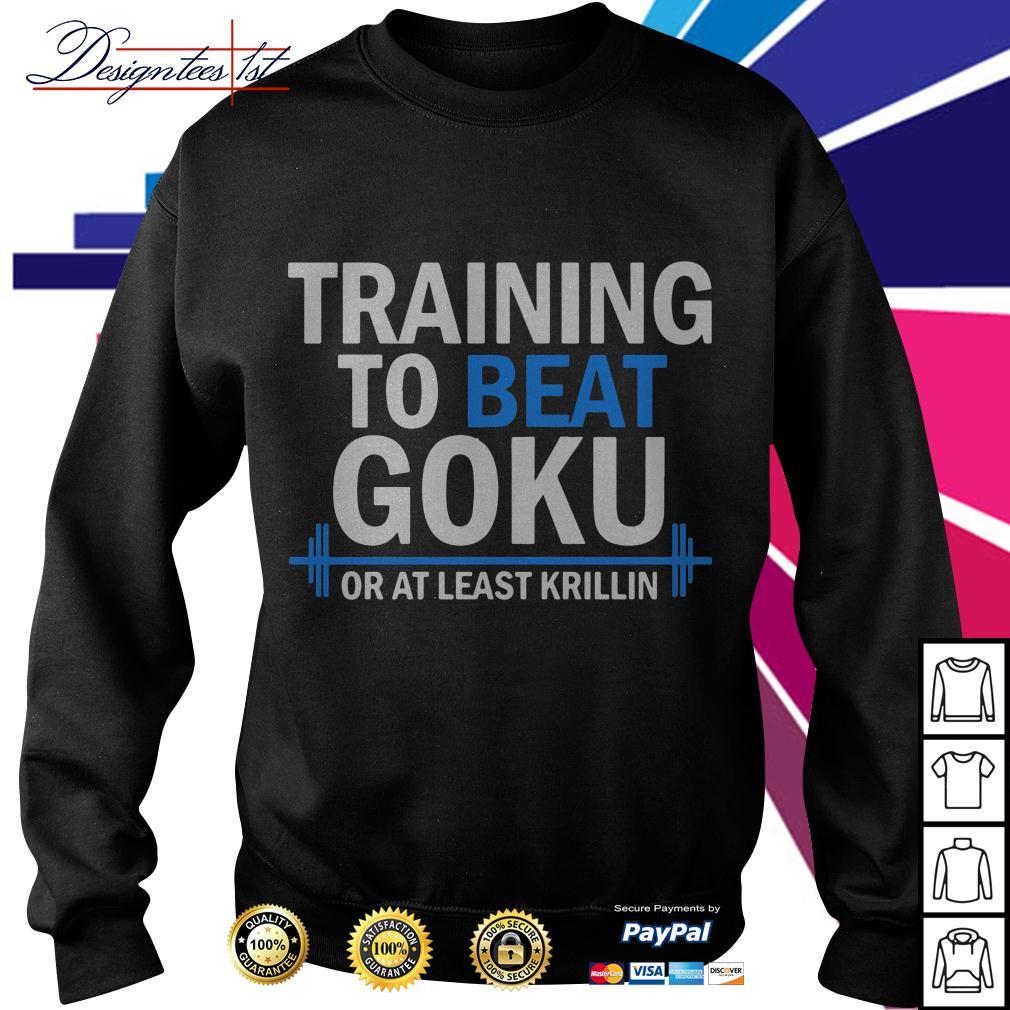 Dragon Ball training to beat Goku or at least Krillin Sweater
