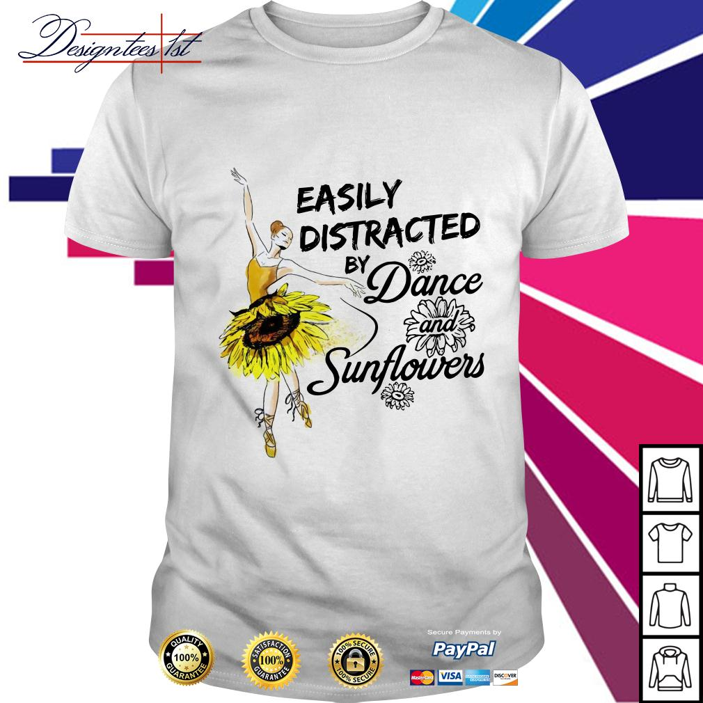 Easily distracted by dance and sunflower shirt