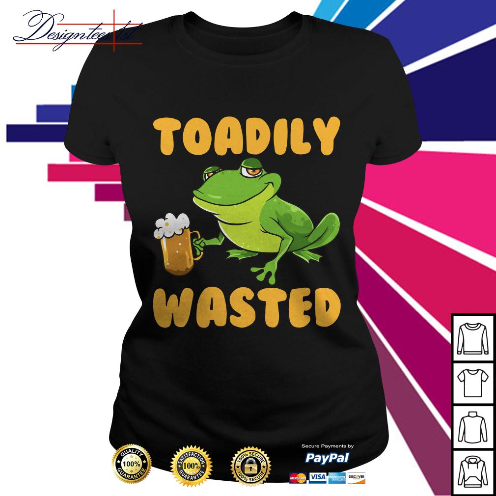 Frog toadily wasted Ladies Tee