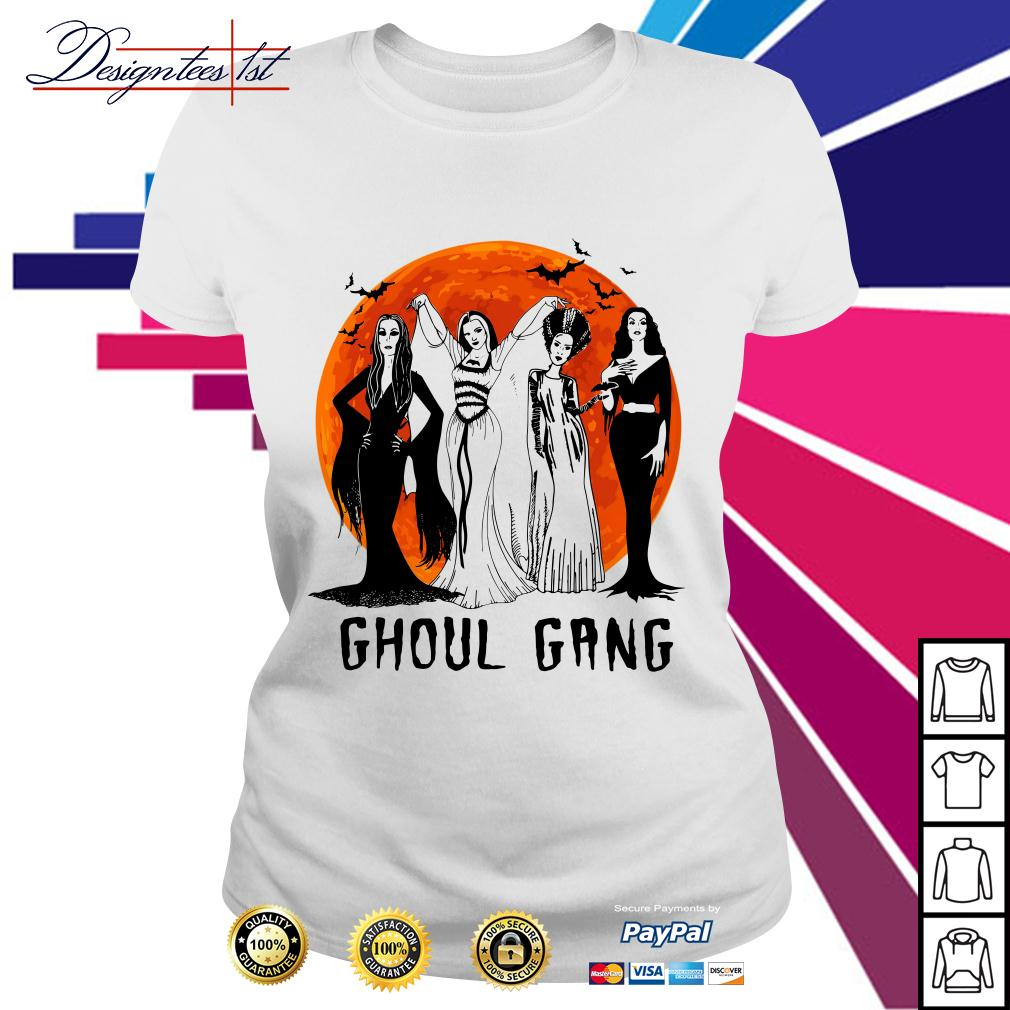 Ghoul Gang Queens of Halloween Ladies Tee