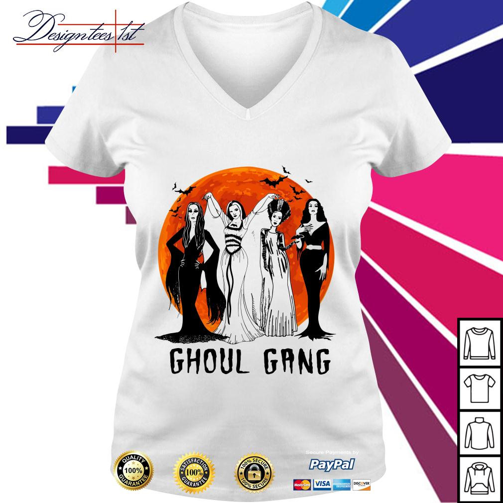 Ghoul Gang Queens of Halloween V-neck T-shirt