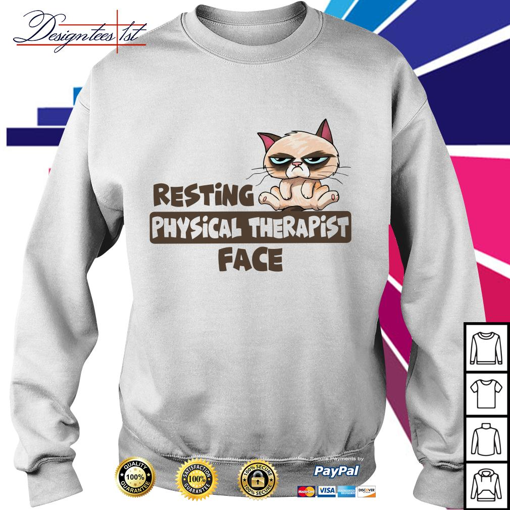 Grumpy resting physical therapist face Sweater