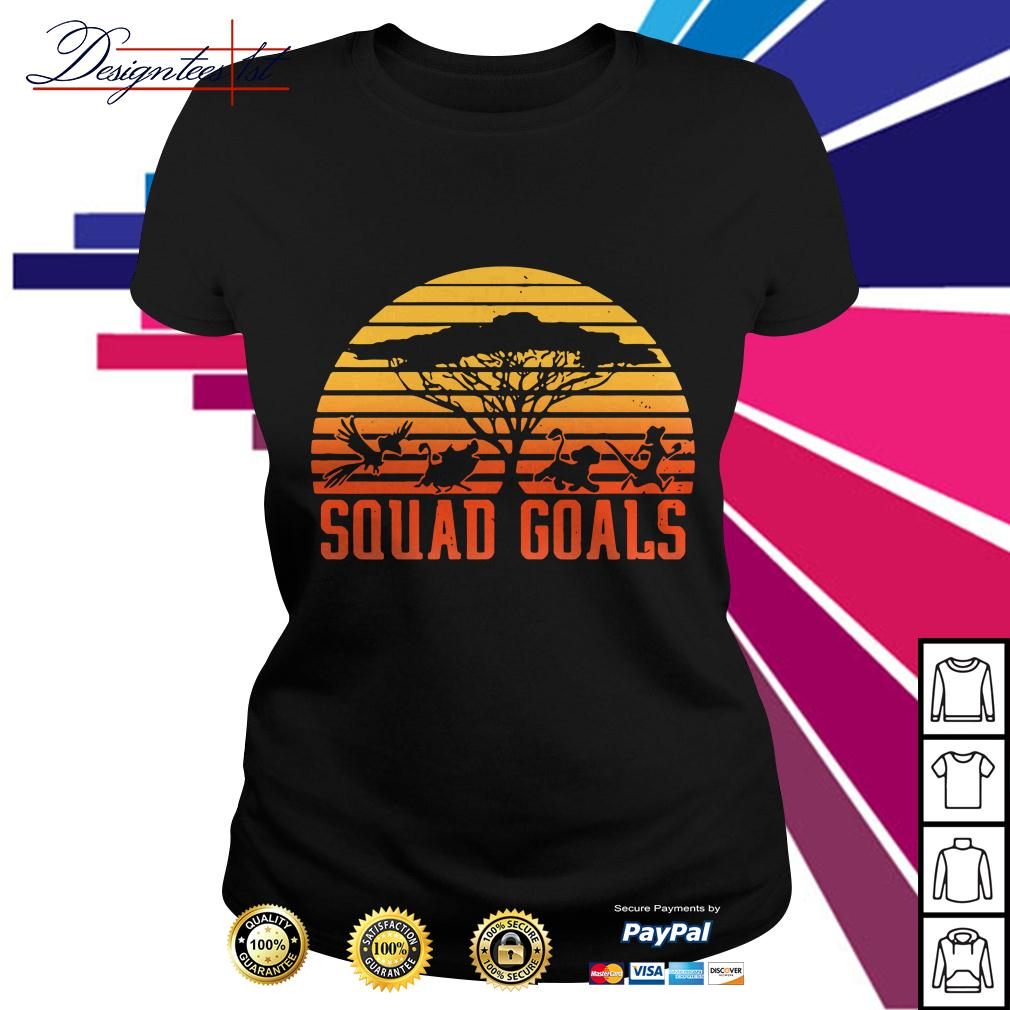 Hakuna Matata squad goals sunset Ladies Tee