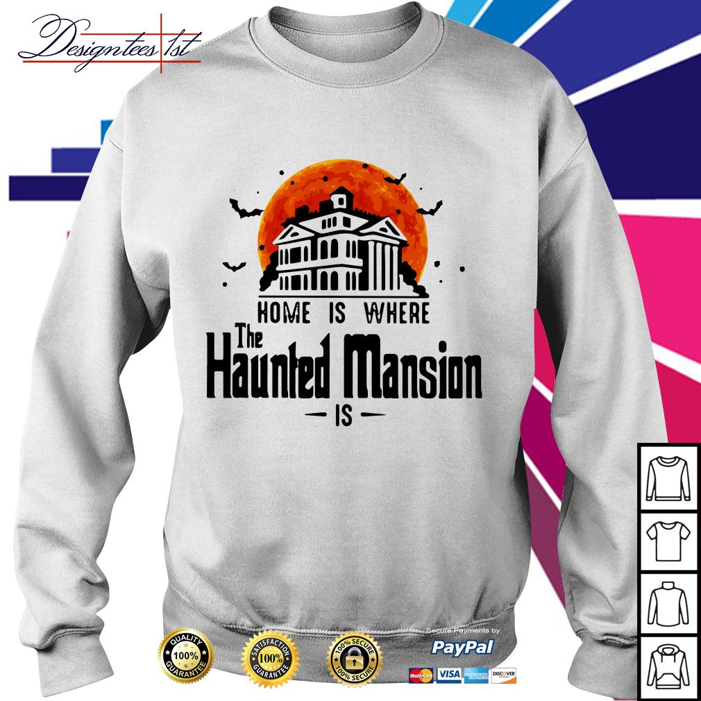 Halloween home is where The Haunted Mansion is Sweater