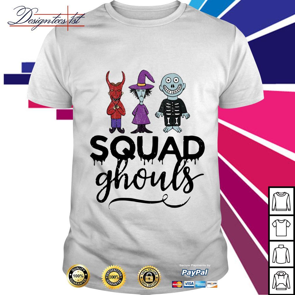 Halloween Squad ghouls shirt