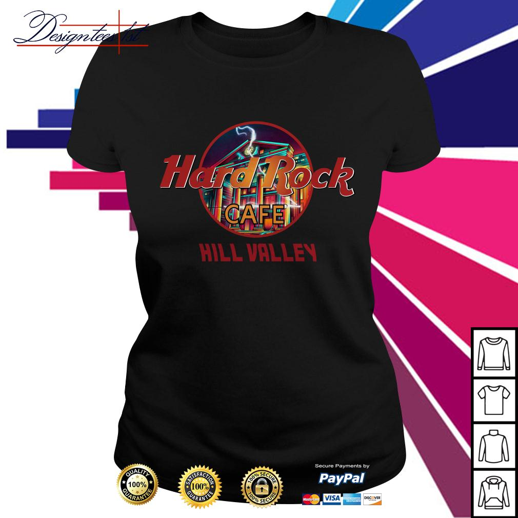 Hard Rock cafe Hill Valley Ladies Tee