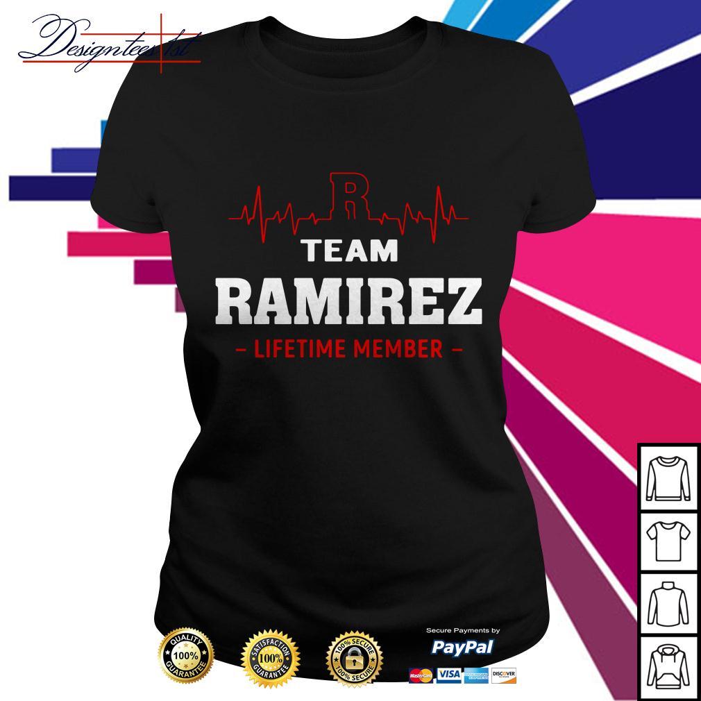 Heartbeat team Ramirez lifetime member Ladies Tee