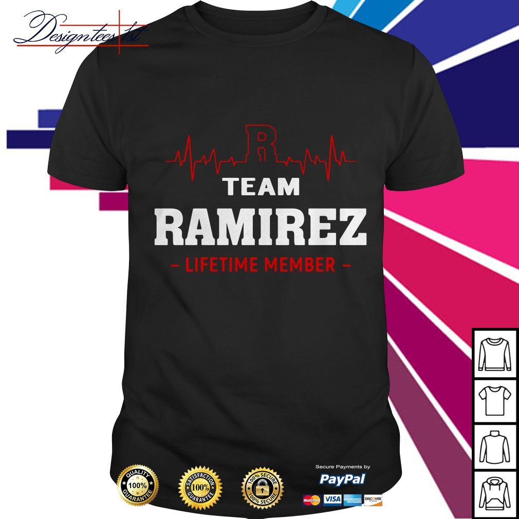 Heartbeat team Ramirez lifetime member shirt