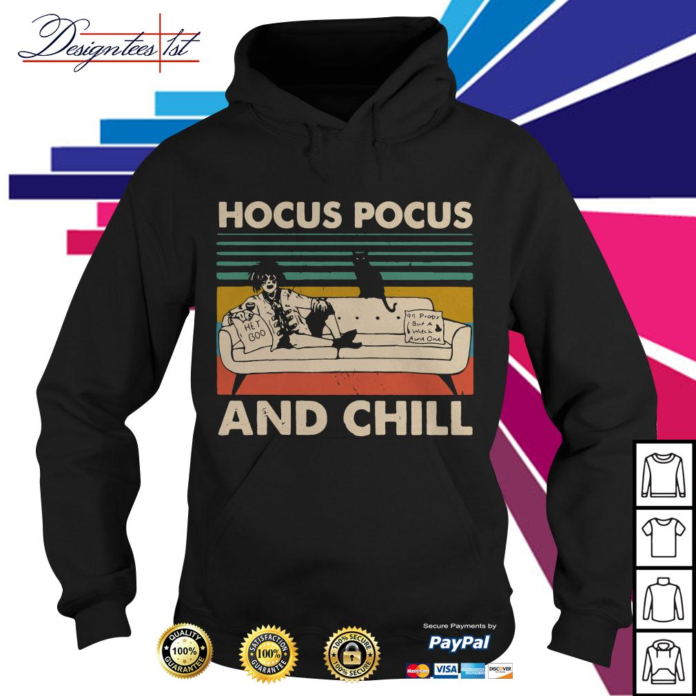 Hocus Pocus and Chill vintage Hoodie