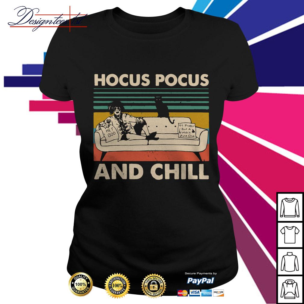 Hocus Pocus and Chill vintage Ladies Tee