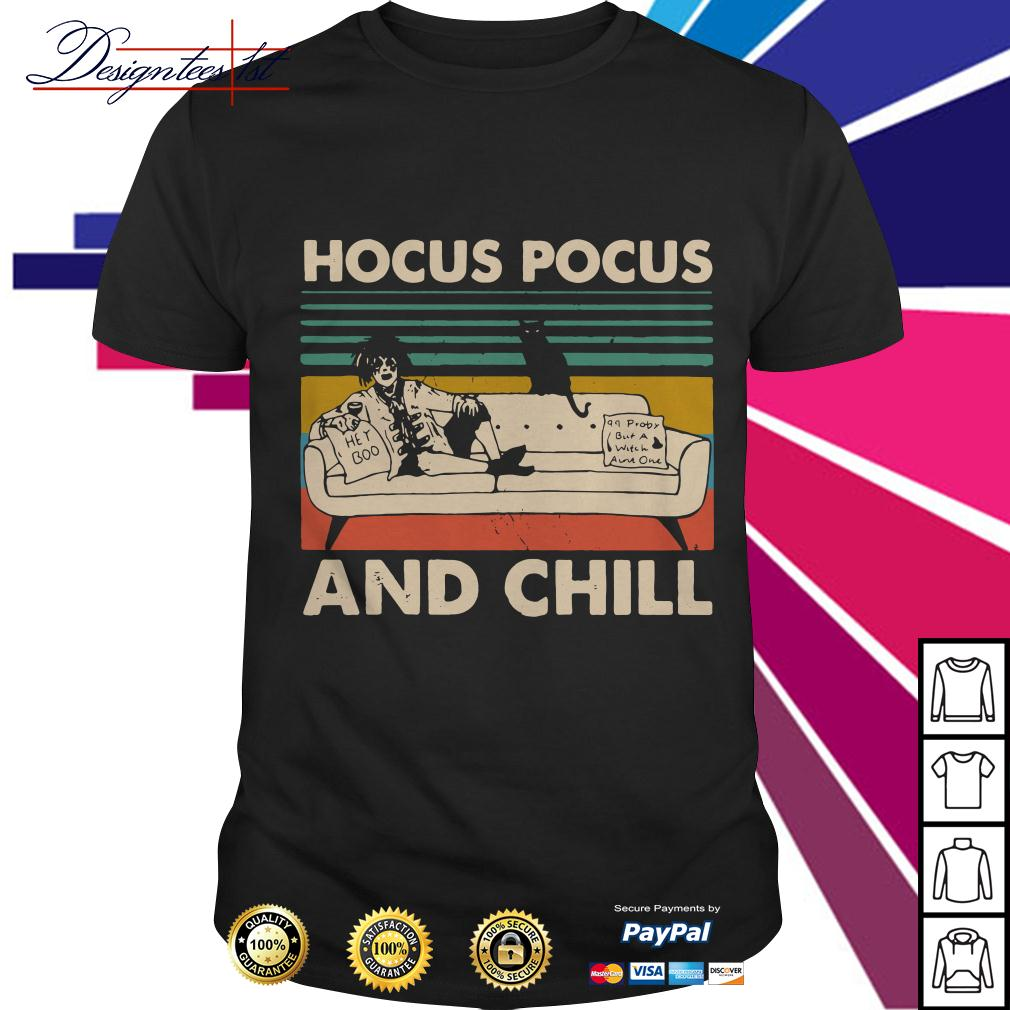 Hocus Pocus and Chill vintage shirt by T-shirtat