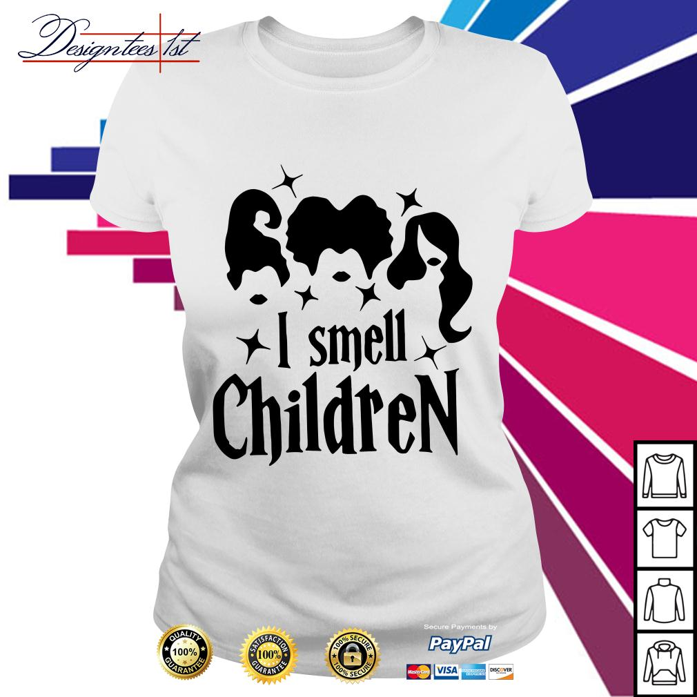Hocus Pocus I smell a children Ladies Tee