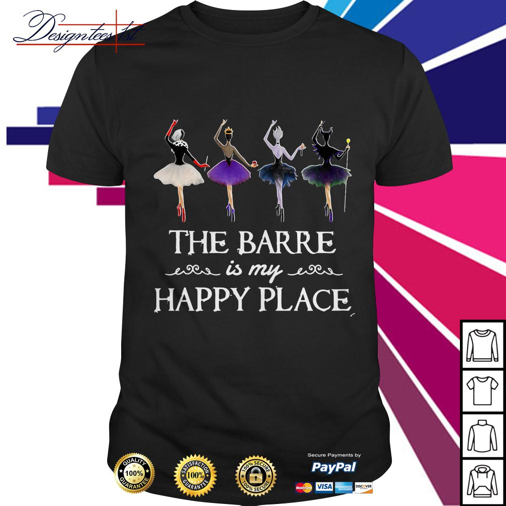 Hocus Pocus the barre is my happy place shirt