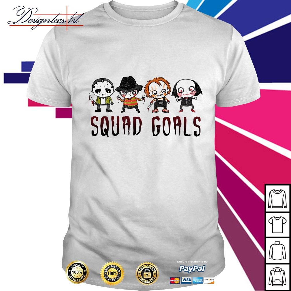 Horror squad goals shirt