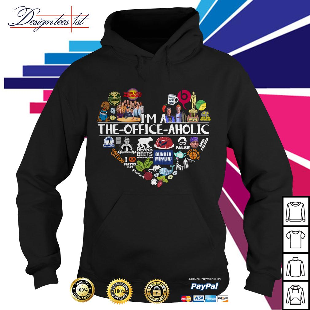 I'm a The Office aholic Hoodie