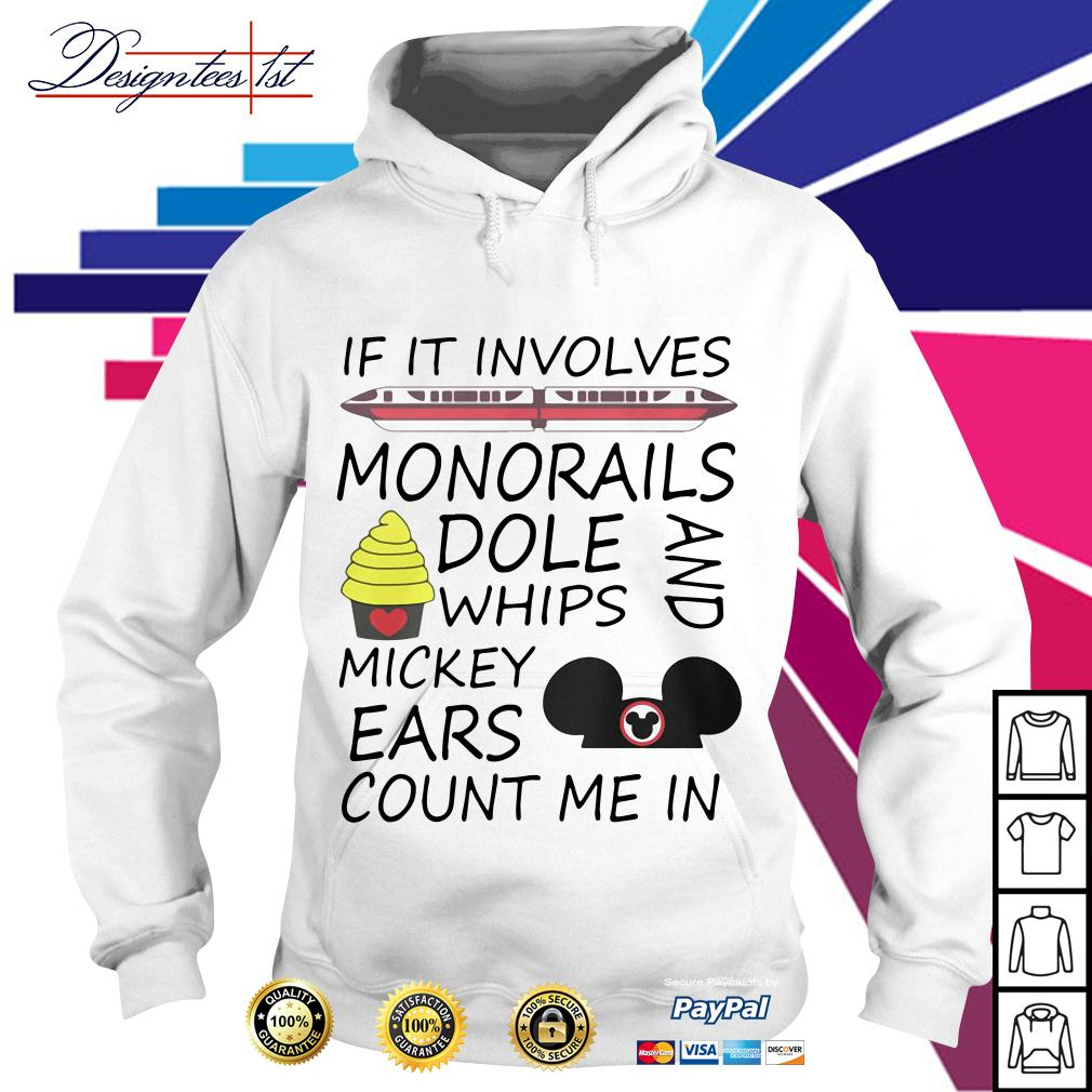 If it involves monorails dole whips and Mickey ears count me in Hoodie