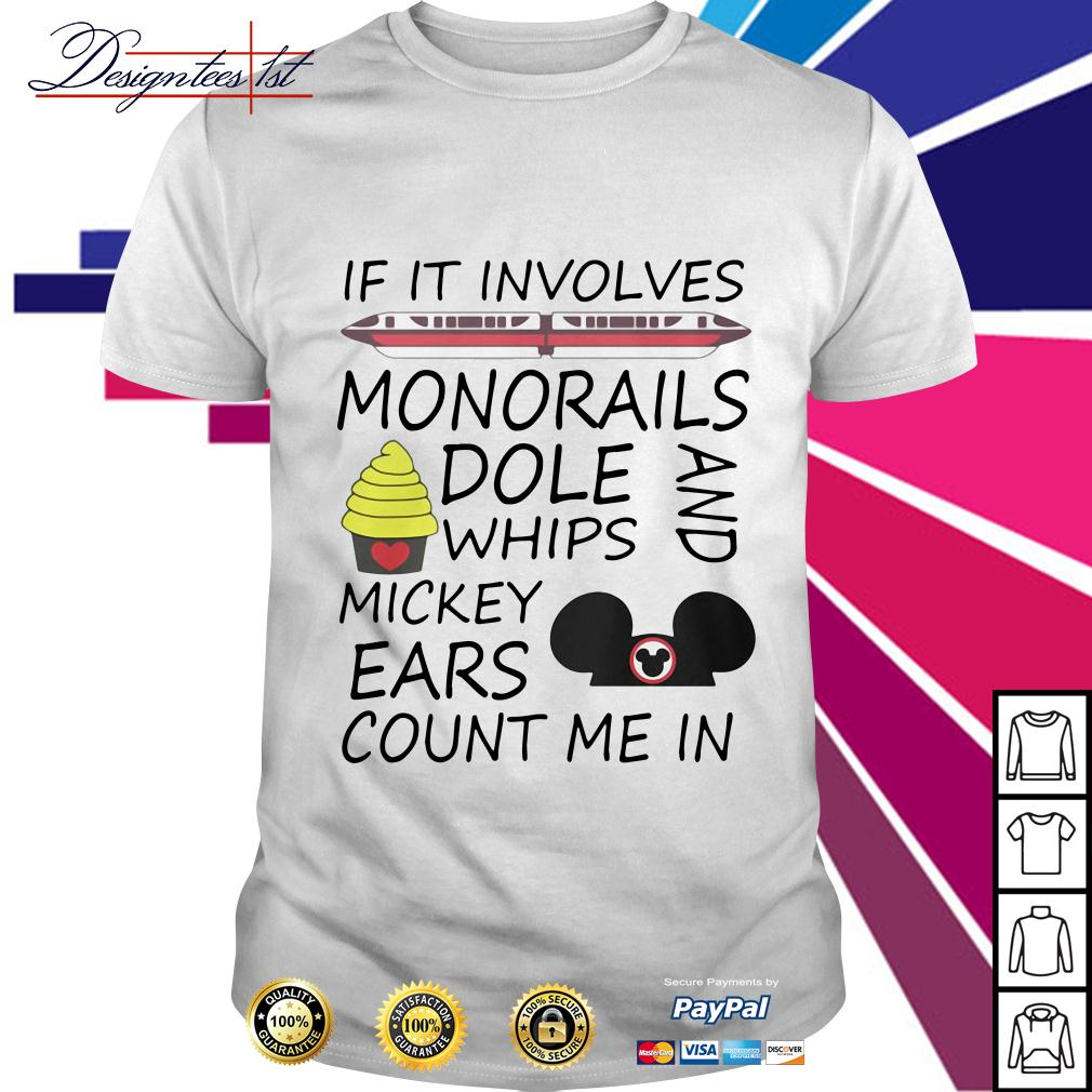 If it involves monorails dole whips and Mickey ears count me in shirt
