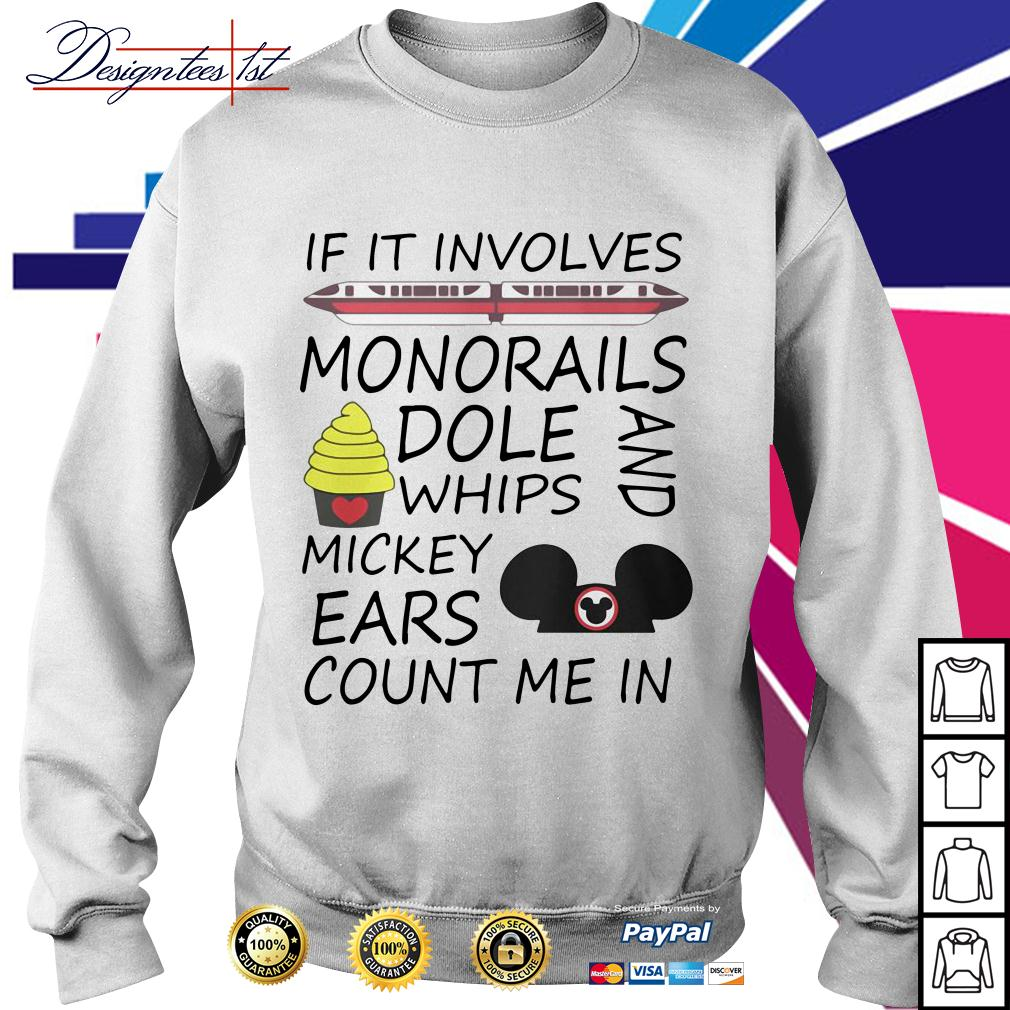 If it involves monorails dole whips and Mickey ears count me in Sweater