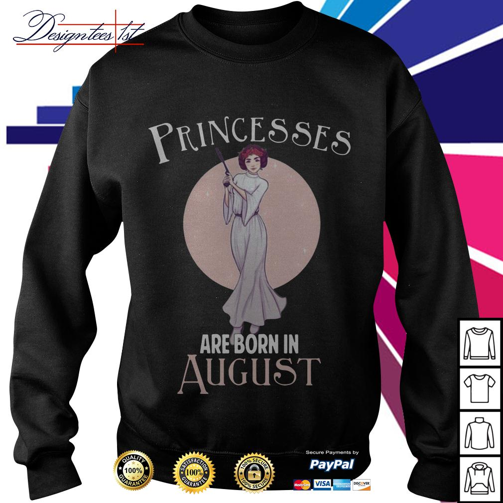 Leia Organa princesses are born in August Sweater