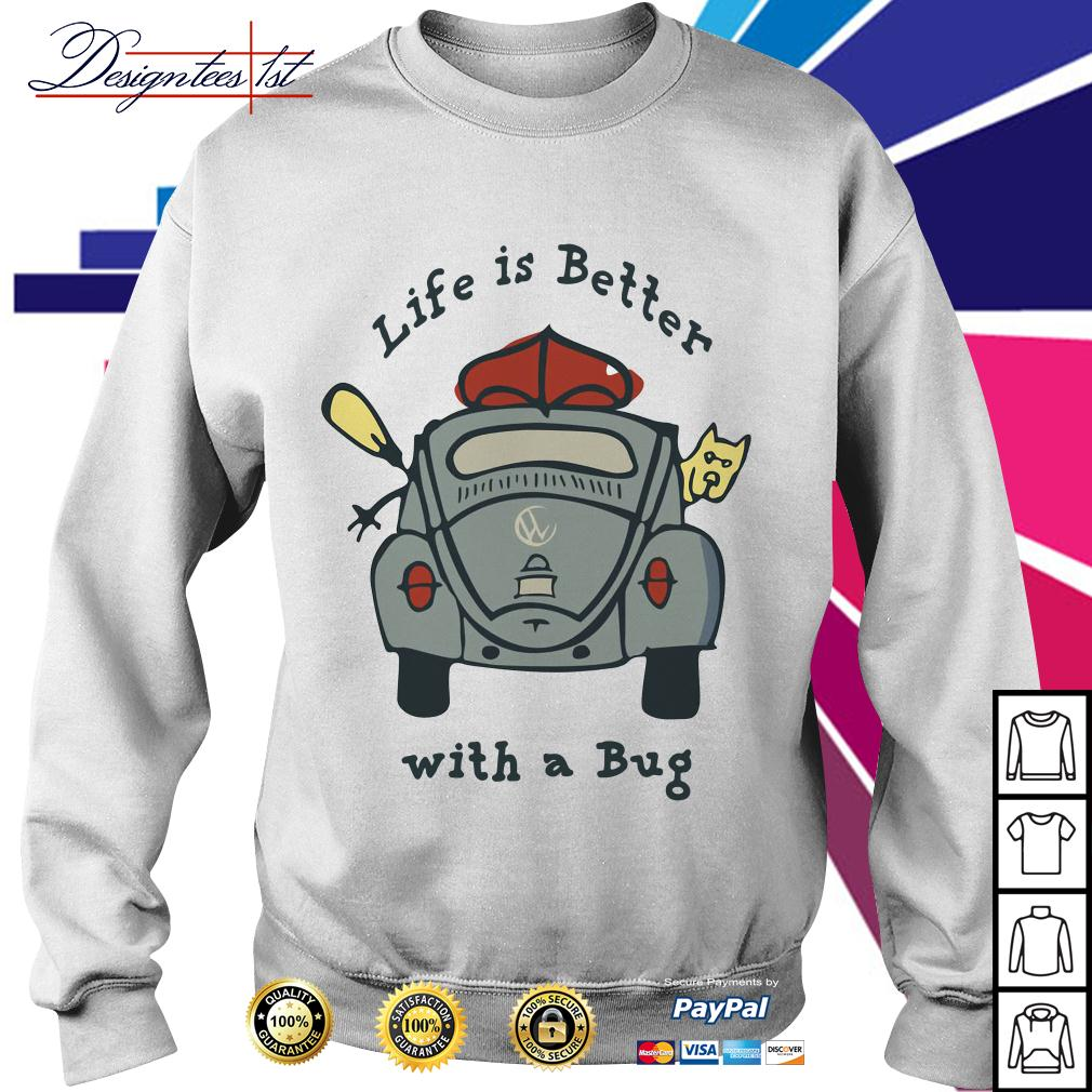 Life is better with a Bug Volkswagen Sweater