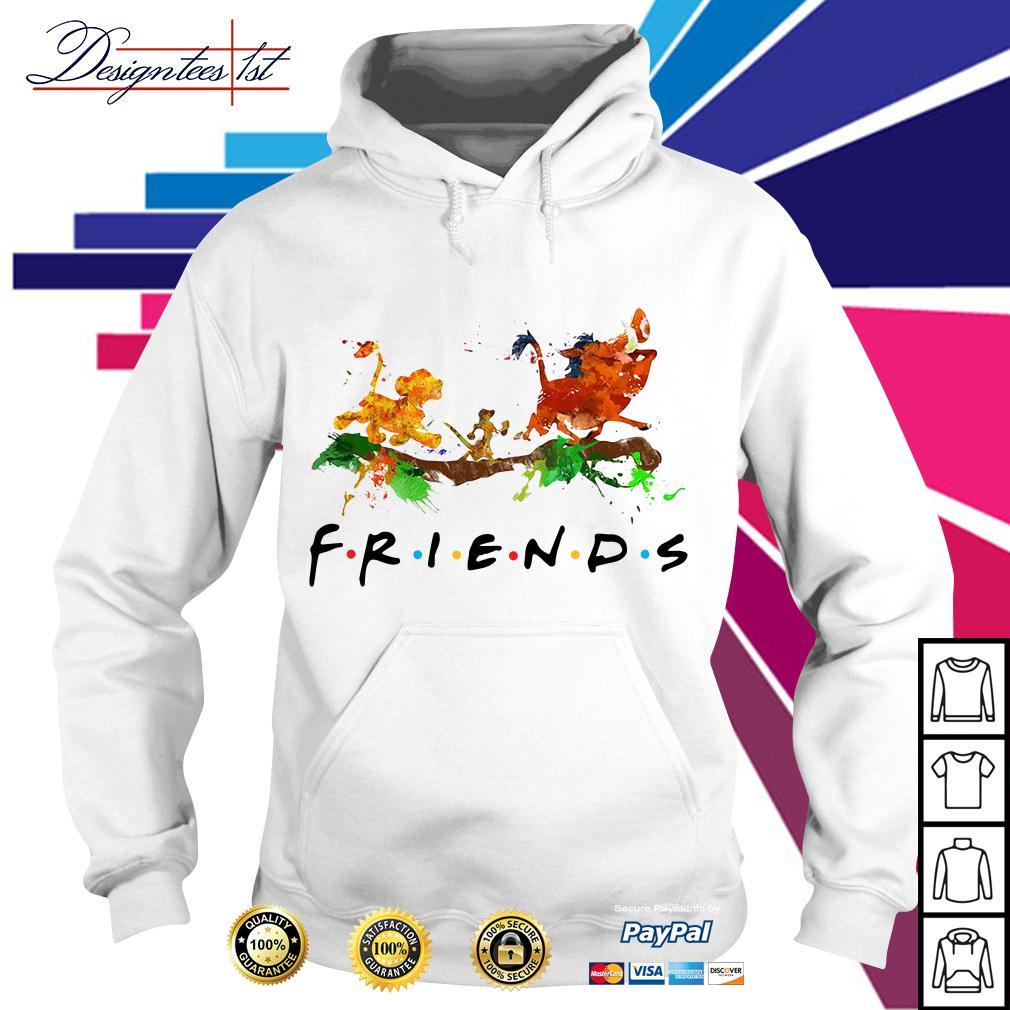 The Lion King Simba Timon Pumbaa friends color Hoodie