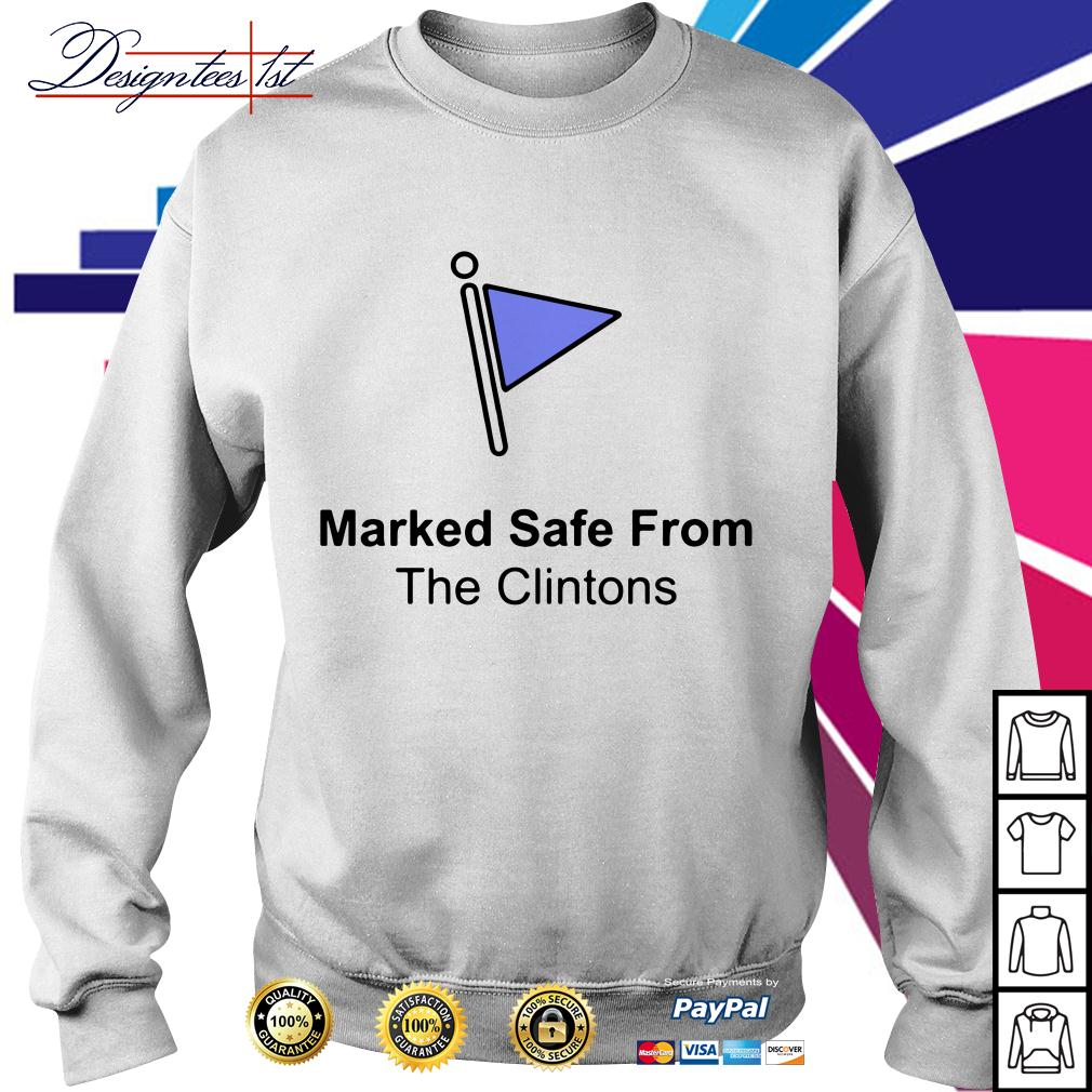Marked safe from the Clintons Sweater